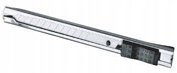 Nóż ostrza łam. 18mm metalowy PRO