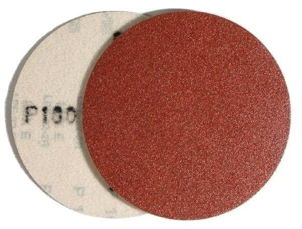 Krążek rzep PL28CK 125mm gr. 60 pełne