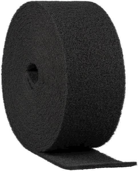 Włóknina rolka 100mm/10mb gr.120 medium czarna SiC