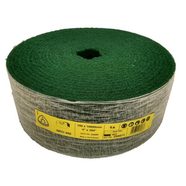 Włóknina rolka 100mm/10mb gr.280 very fein zielona