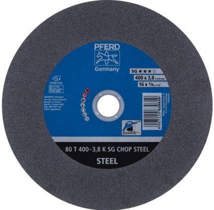 PFERD Tarcza 80T 400x3,8x32,0 A36 K SG-CHOP