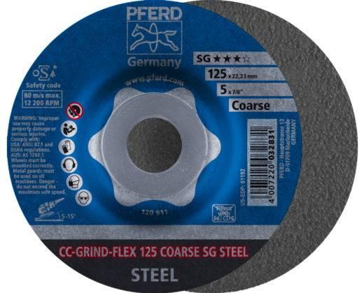 PFERD Tarcza 125 CC GRIND-FLEX STEEL coarse