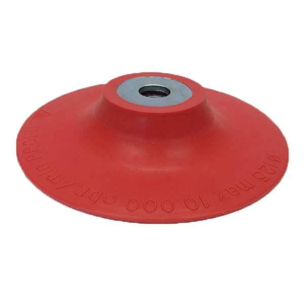 Dysk do fibry fi 125mm M14 miękki czerwony