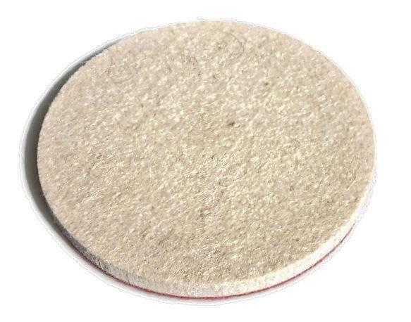 Krążek rzep filcowy fi 125mm grubość 10mm