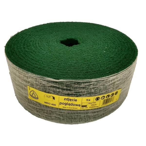 Włóknina rolka 115mm/10mb gr.280 very fein zielona