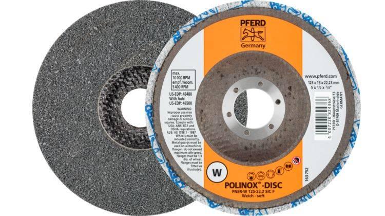 PFERD Ściernica PNER 125x13 W drobne (miękkie)