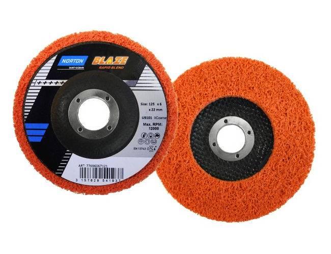 Ściernica Rapid Blend 125x 6 BLAZE U9101 pomarańcz
