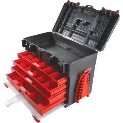 Skrzynka narzędziowa 4-szufladowa