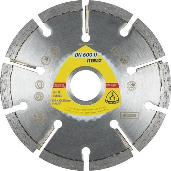 Tarcza diamentowa do spoin 125x6,0x22 DN600U Supra