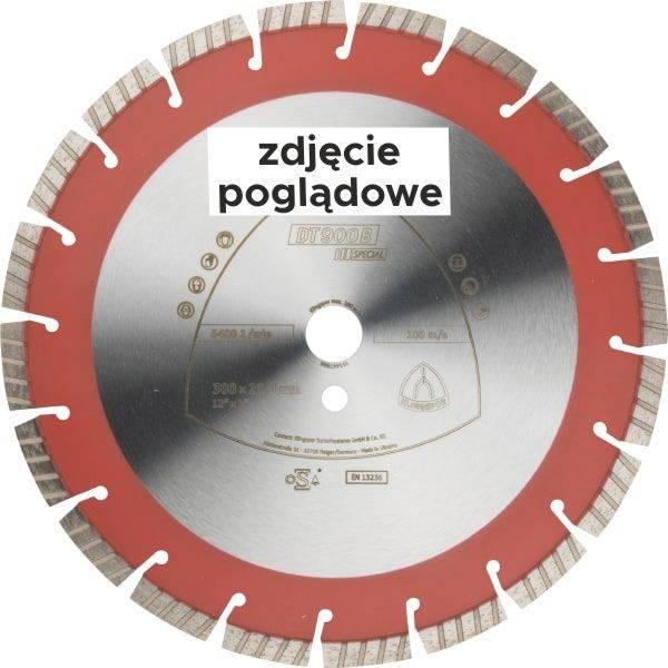 Tarcza diamentowa segm. 350x25,4 DT900B Special