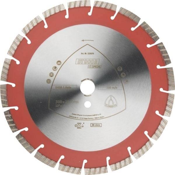 Tarcza diamentowa segm. 300x25,4 DT900B Special