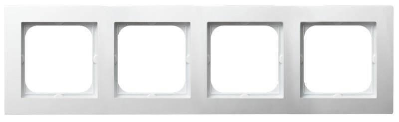 AS ramka poczwórna biały R-4G/00