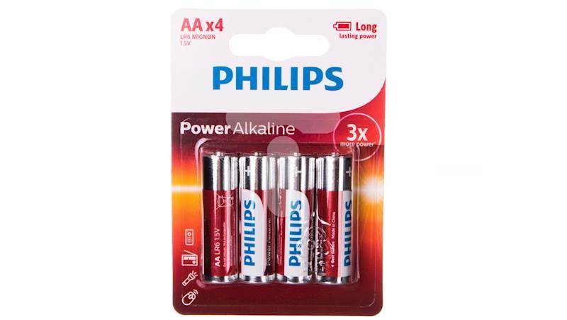 Bateria AA Power Alkaline PHILIPS