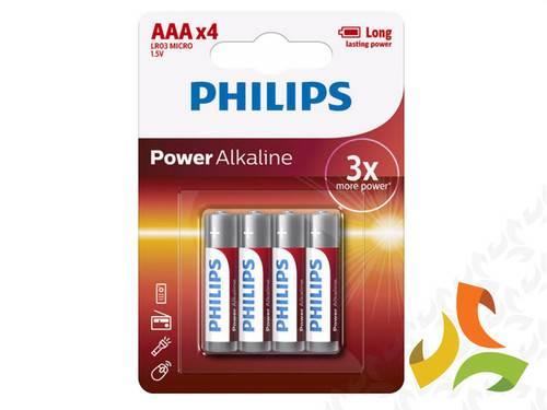 Bateria AAA Power Alkaline PHILIPS