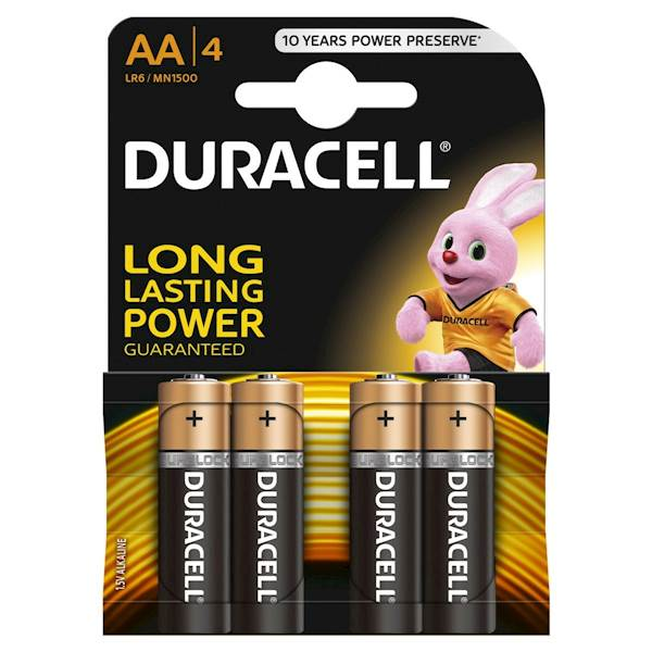 Bateria Alkaliczna Duracell Basic AA