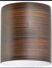 Klosz brązowy w paski owalny E14 Eglo 90255