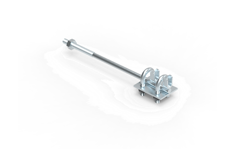 27.1 OC Uchwyt naprężny kabłąkowy L-250mm