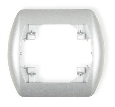 Karlik ramka pojedyncza 7RH-1 srebrny metalik