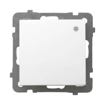 AS Łącznik krzyżowy biały ŁP-4G/m/00
