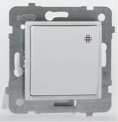 ROSA Łącznik krzyżowy ŁP-4Q/m biały