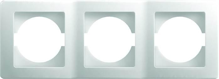 TEM.24151 Ramka ekonomik 3-pozioma biała