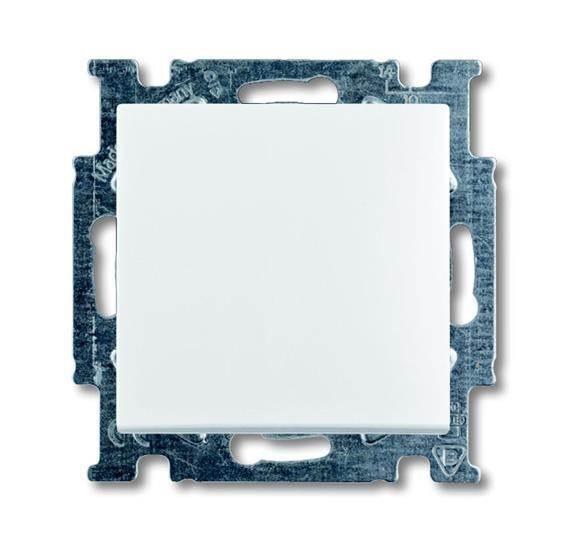 BAS55 Przycisk zwierny biały