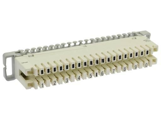 Łączówka rozłączna 10 parowa typ LSA