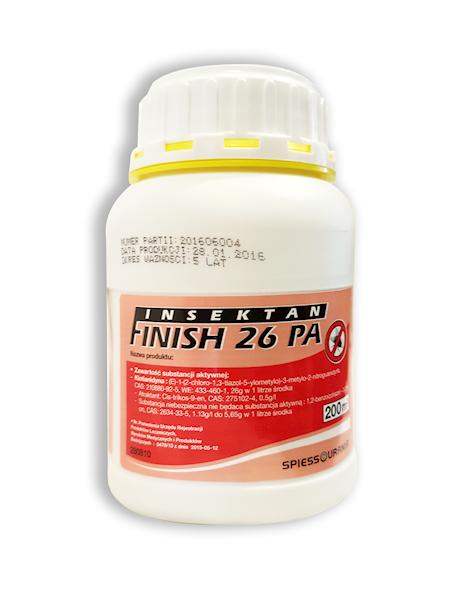 Finish 26 PA 0,5l - preparat na muchy do malowania