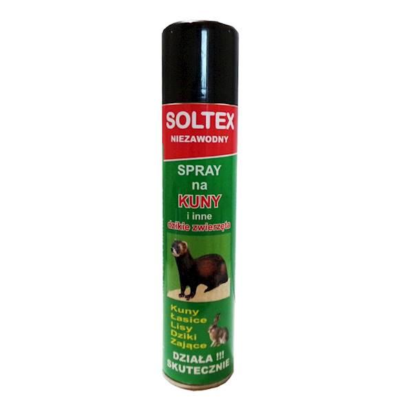 Soltex spray odstraszający na kuny i dzikie zwierz