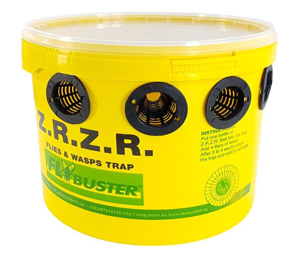 FLYBUSTER Z.R.Z.R. - pułapka na muchy z atraktante