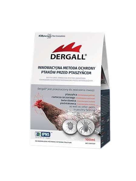 Dergall Hobby 100 ml na ptaszyńca w obecności zwie