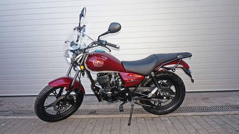 MOTOCYKL BARTON CLASSIC 125cc 2019
