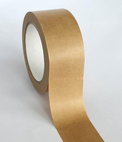 Taśma KRAFT Papierowa brąz  50/50M SOLVENT