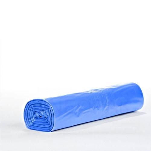 Worki Na Śmieci 120L/10 szt (Niebieskie z taśmą)
