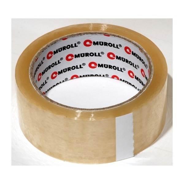 Taśma Pakowa 48/60 MUROLL Transparent (Solvent)