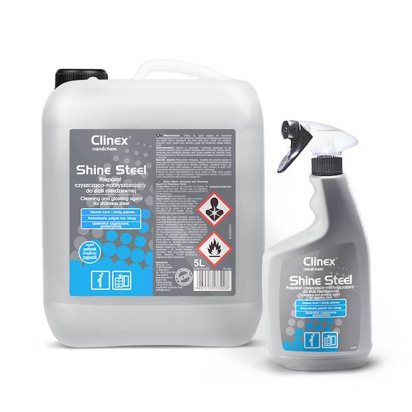 Clinex Shine Steel 650ml