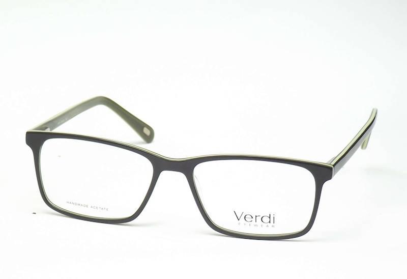 Oprawa okularowa VD1668 C04 Verdi - oliwkowo/zielo