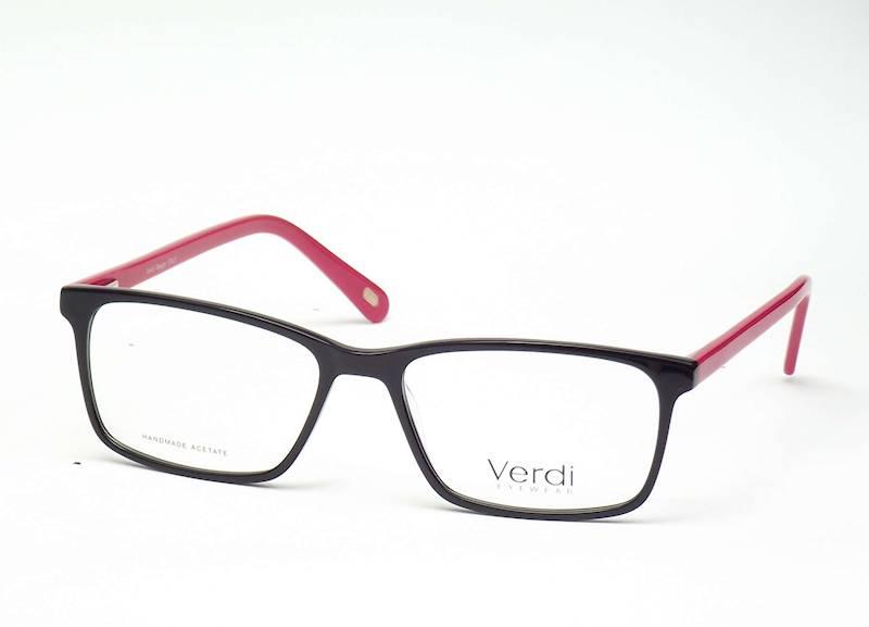 Oprawa okularowa VD1668 C02 Verdi - czarny/czerwo