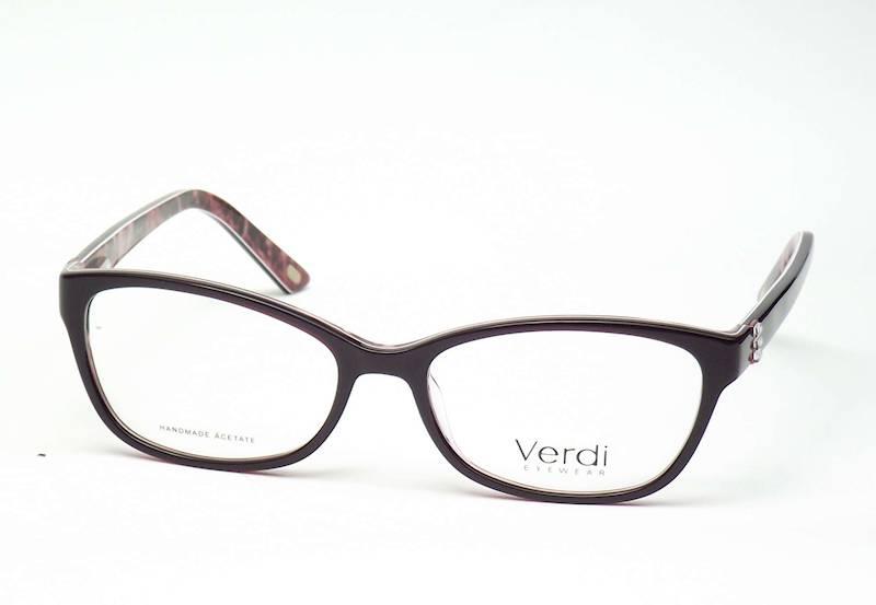 Oprawa okularowa VD1667 C01 Verdi - czarn/czerwo