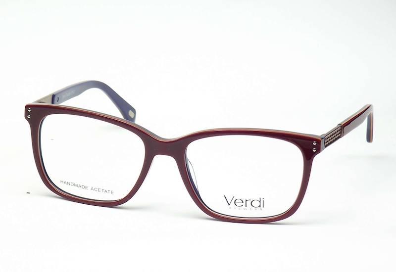 Oprawa okularowa VD1666 C03 Verdi - czerwo/gran