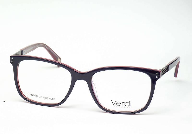 Oprawa okularowa VD1666 C02 Verdi - gran/czerwo