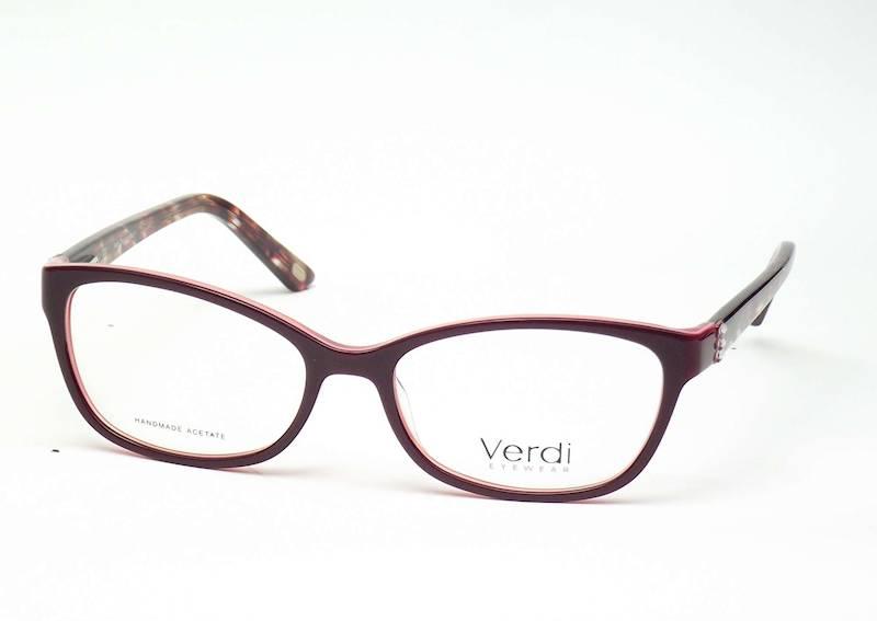 Oprawa okularowa VD1667 C04 Verdi - bordo