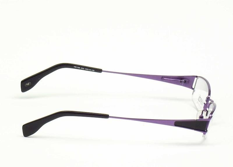 Oprawa okularowa VD1108 C02 Verdi - purpura/czarny