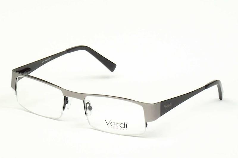 Oprawa okularowa VD1106 C01 Verdi - gun/czarny