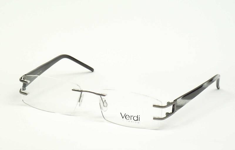 Oprawa okularowa VD1105 C03 Verdi - gun/czarny