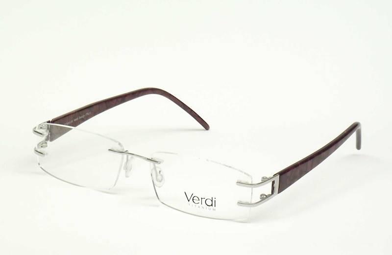 Oprawa okularowa VD1105 C02 Verdi - srebro/purpura