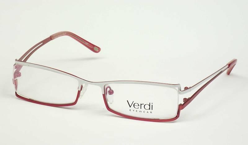 Oprawa okularowa VD1206 C03 Verdi - biały/czerwony