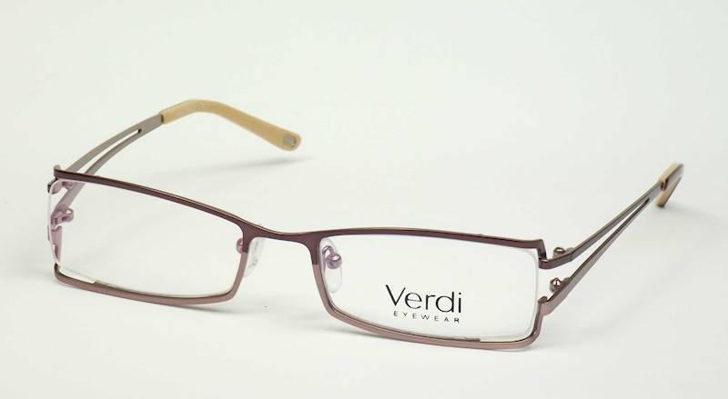 Oprawa okularowa VD1206 C02 Verdi - brąz/złoto