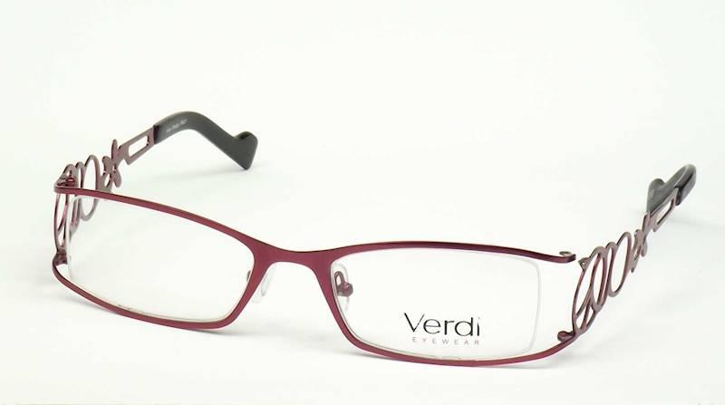 Oprawa okularowa VD1107 C01 Verdi - burgund