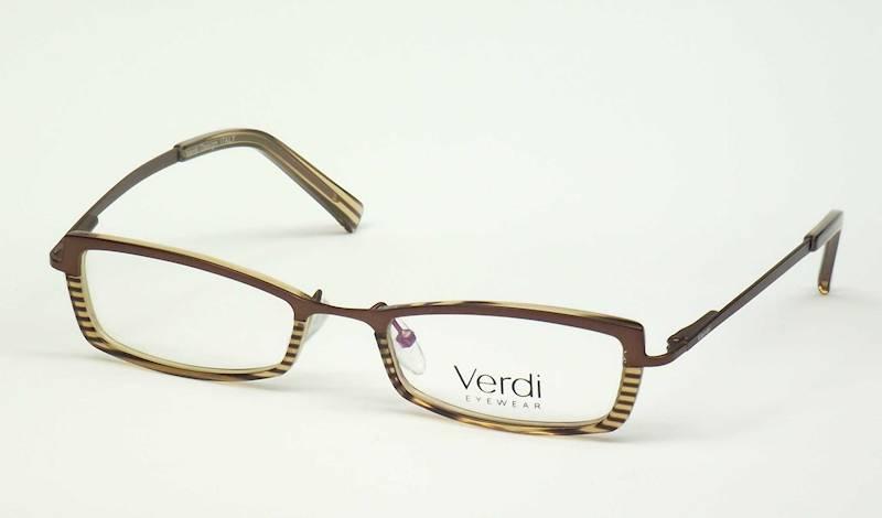 Oprawa okularowa VDT1204 C03 Verdi - brąz/brąz
